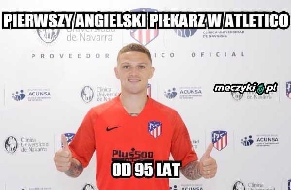 Atletico długo czekało na piłkarza z Anglii