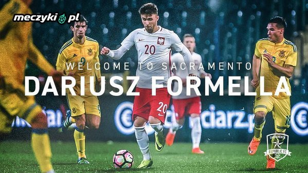 Dariusz Formella został piłkarzem Sacramento Republic FC