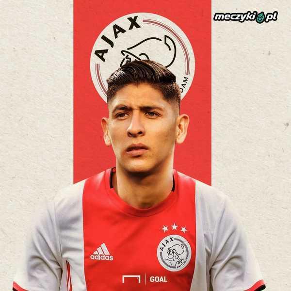 Ajax pozyskał meksykańską gwiazdę - Edsona Alvareza