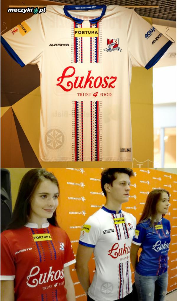 TS Podbeskidzie zaprezentowało koszulkę meczową, która nawiązuje do tradycji regionu