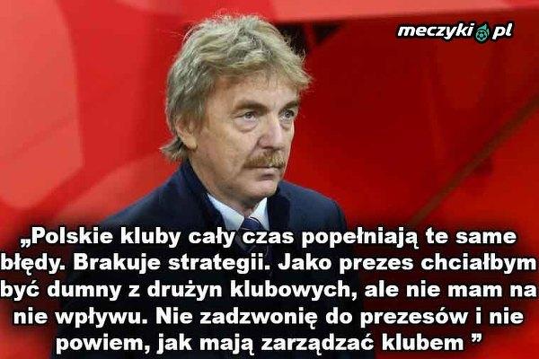 Boniek o błędach polskich klubów