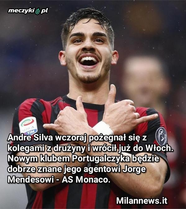 Andre Silva podpisze kontrakt z Monaco