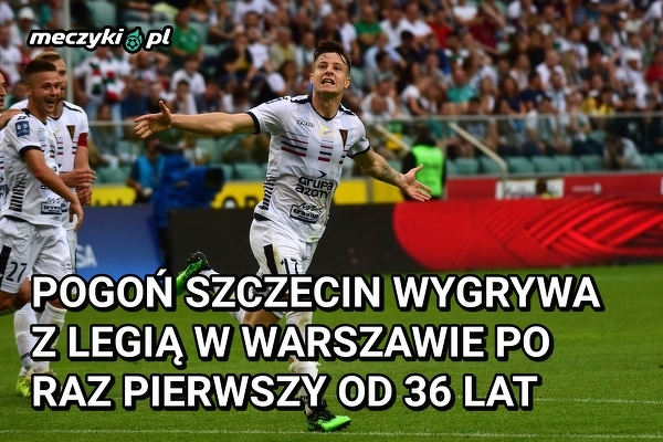 Przełamana seria Pogoni Szczecin