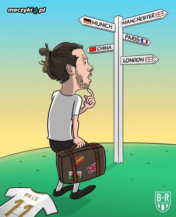 Która drogę wybierze Gareth Bale?