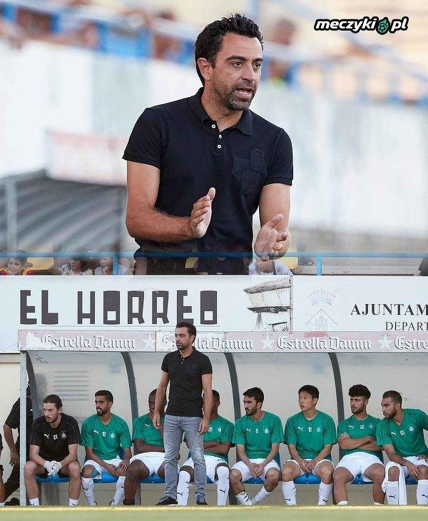 Xavi zadebiutował jako trener Al Sadd