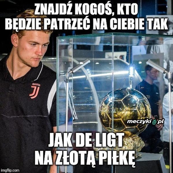 De Ligt i Złota Piłka