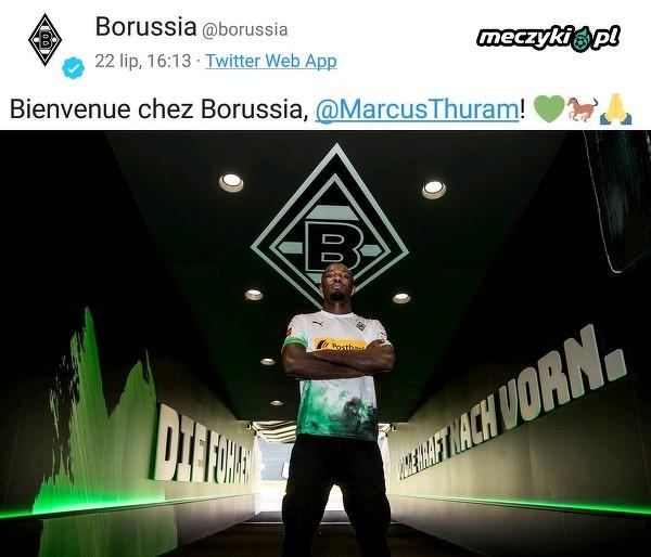 Marcus Thuram nowym piłkarzem Borussii Monchengladbach