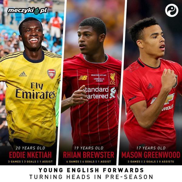 Przyszłość angielskiej piłki w przedsezonowych meczach