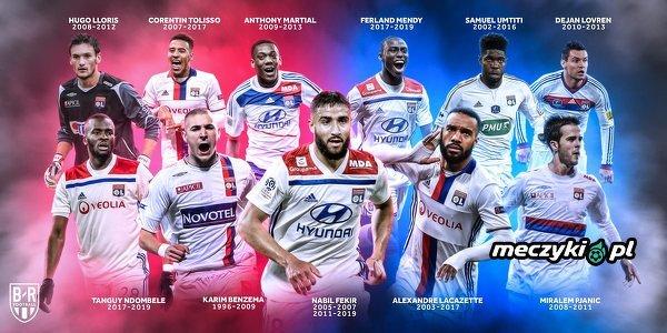 Olympique Lyonnais kreuje przyszłe gwiazdy