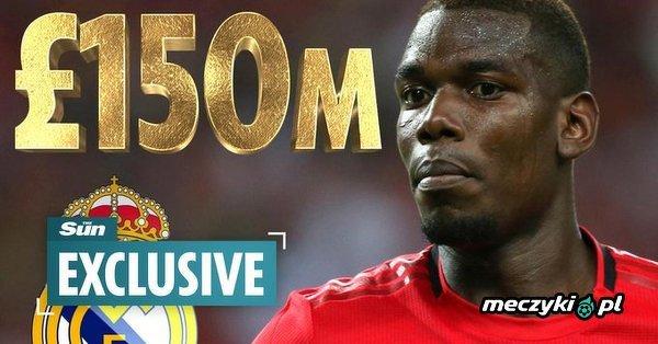 Szalona oferta Realu! - £150 mln za Pogbę!