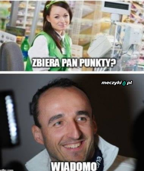 Kubica i jego punkt!
