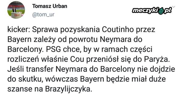 Bayern zależny od transferu Neymara