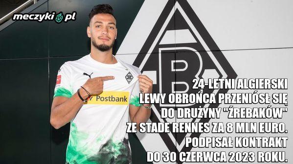 Ramy Bensebaini nowym piłkarzem Borussii Mönchengladbach!