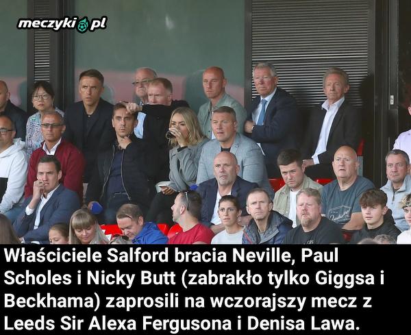Sir Alex Ferguson widział gol Klicha na żywo