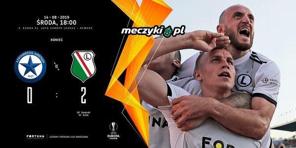Legia Warszawa melduje się w ostatniej rundzie eliminacji Ligi Europy