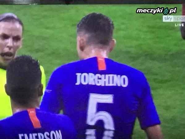 Błąd w nazwisku Jorginho