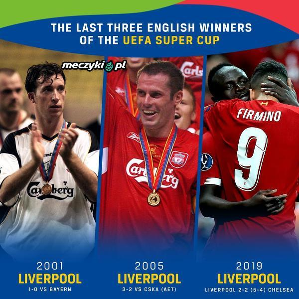 Liverpool wie, jak grać w Superpucharze