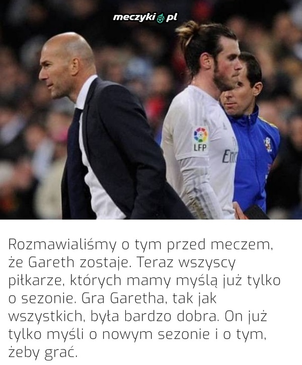 Bale zostaje w Realu