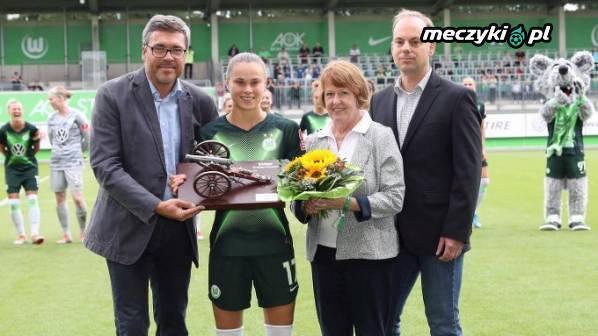 Ewa Pajor odebrała nagrodę za największą liczbę bramek w ostatnim sezonie Bundesligi