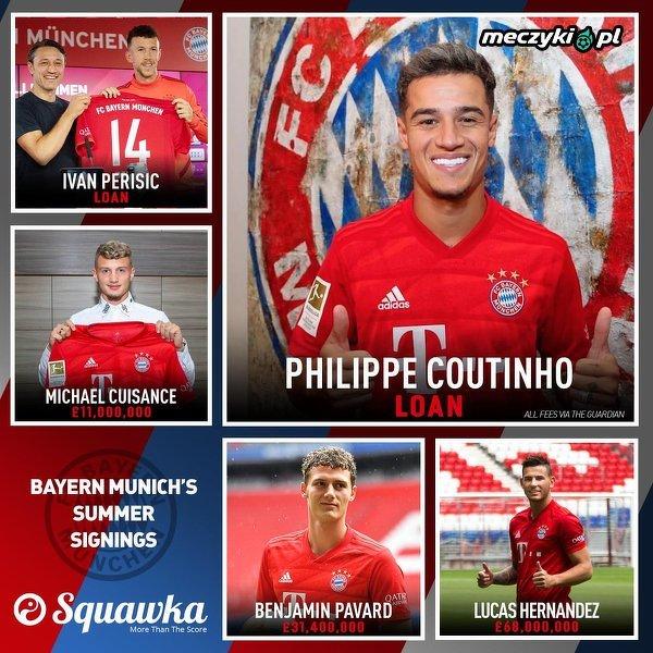 Wzmocnienia Bayernu w letnim oknie transferowym