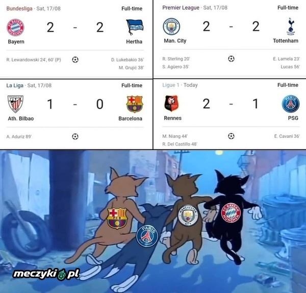PSG również nie zachwyciło w ten weekend