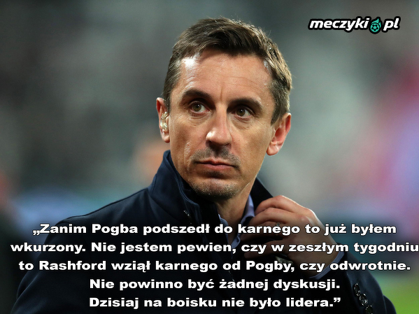 Gary Neville podsumował ostatni mecz Manchesteru Utd