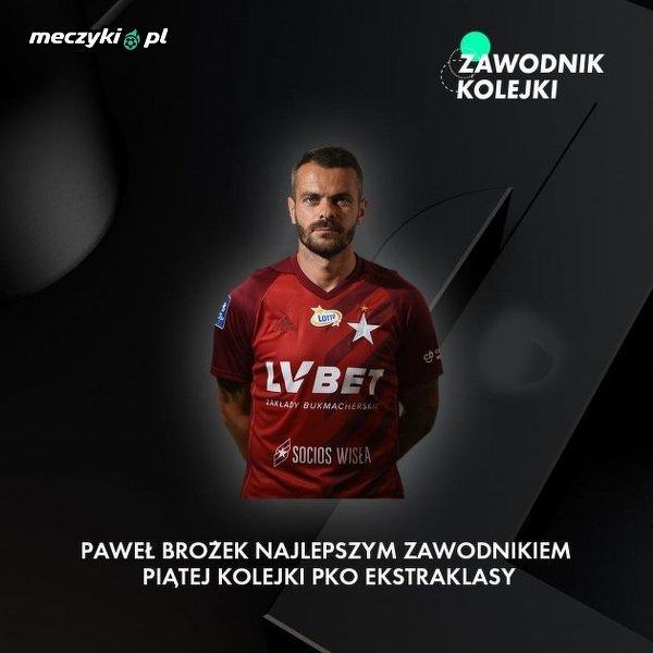 36-letni Paweł Brożek pozamiatał w 5. kolejce Ekstraklasy