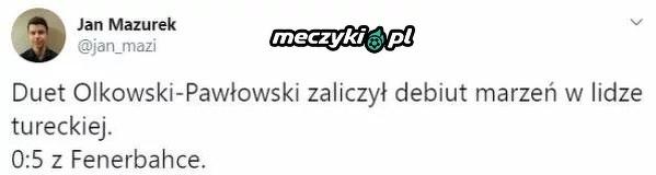 Koszmarny debiut Polaków w lidze tureckiej