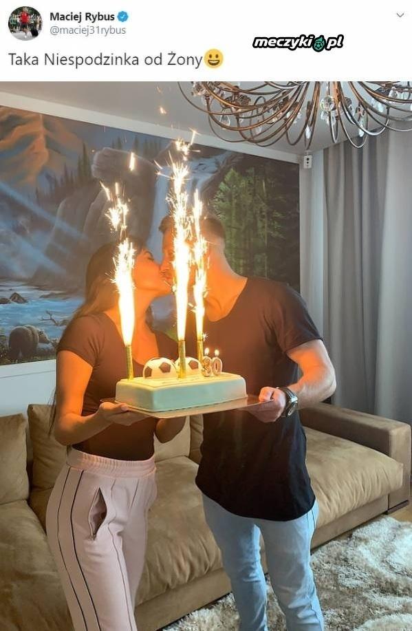 Urodzinowa niespodzianka dla Rybusa