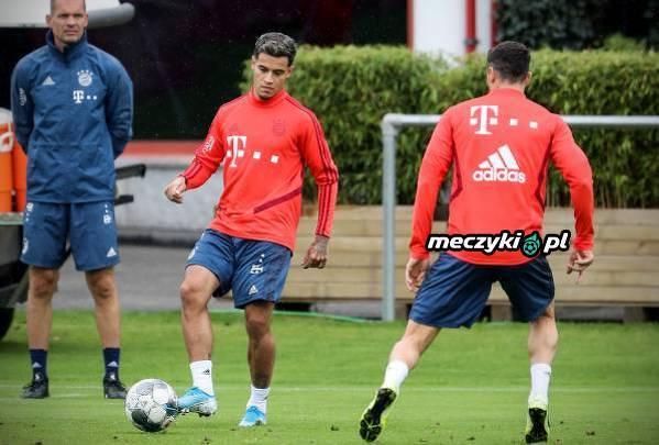 Coutinho odbył pierwszy trening w Bayernie