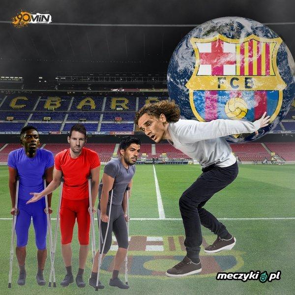Odpowiedzialność za ofensywę Barcy będzie musiał przejąć Antoine Griezmann