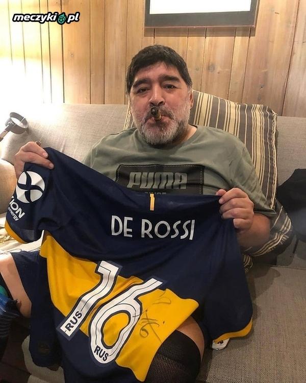 Największy fan De Rossiego