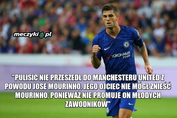 To dlatego Pulisić nie trafił do United