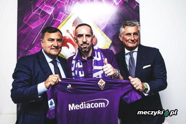 Oficjalnie: CF Fiorentina zakontraktowała Francka Ribéry'ego