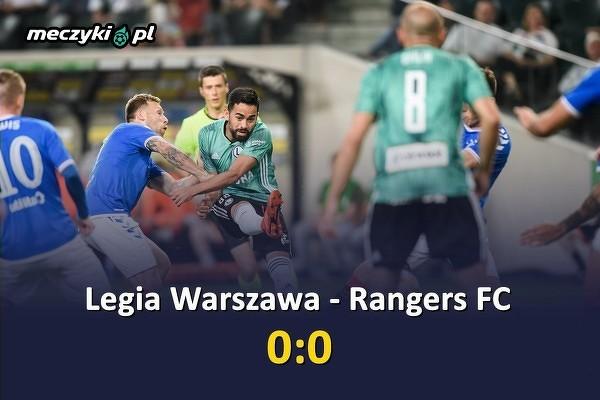 Bezbramkowy remis Legii z Rangers FC