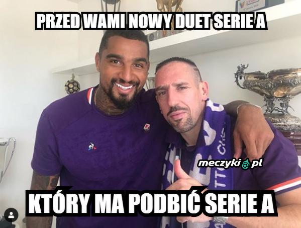 Podbiją Serie A?