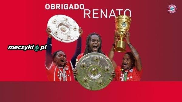 Bayern pożegnał Renato Sanchesa