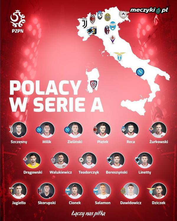 Dzisiaj startuje Serie A. Aż 17 Polaków będzie można obserwować w tym sezonie