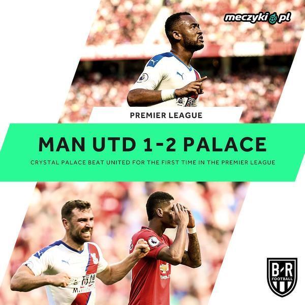 Crystal Palace pierwszy raz w historii pokonał Man Utd