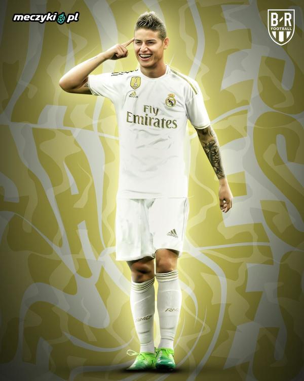James Rodriguez pierwszy raz w wyjściowej 11 Realu od maja 2017