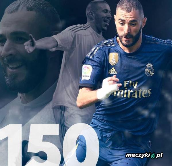 150 goli Benzemy w La liga