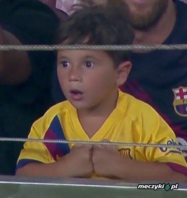 Syn Messiego pod wrażeniem gry Barcy w drugiej połowie