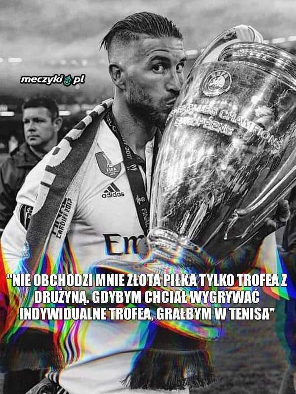 Ramosa nie obchodzą trofea indywidualne