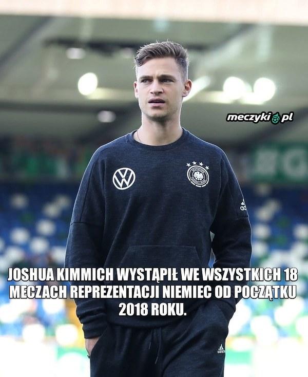 Kimmich jest kluczowy dla reprezentacji Niemiec