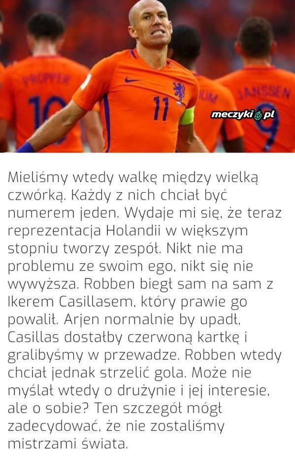 Ryan Babel ma żal do Robbena o akcję z MŚ 2010