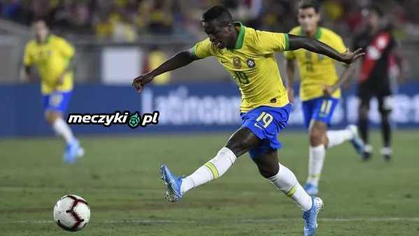 Vinicius Junior zadebiutował w seniorskiej reprezentacji Brazylii