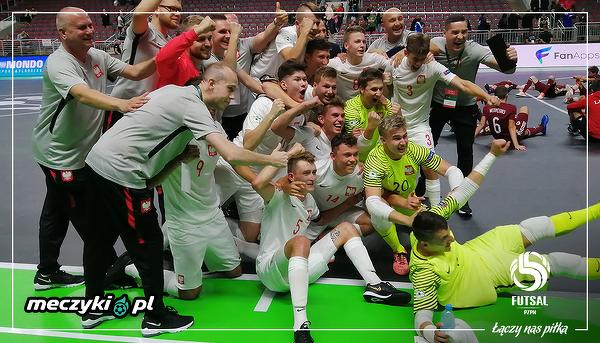 Polska w półfinale Mistrzostw Europy do lat 19 w futsalu!