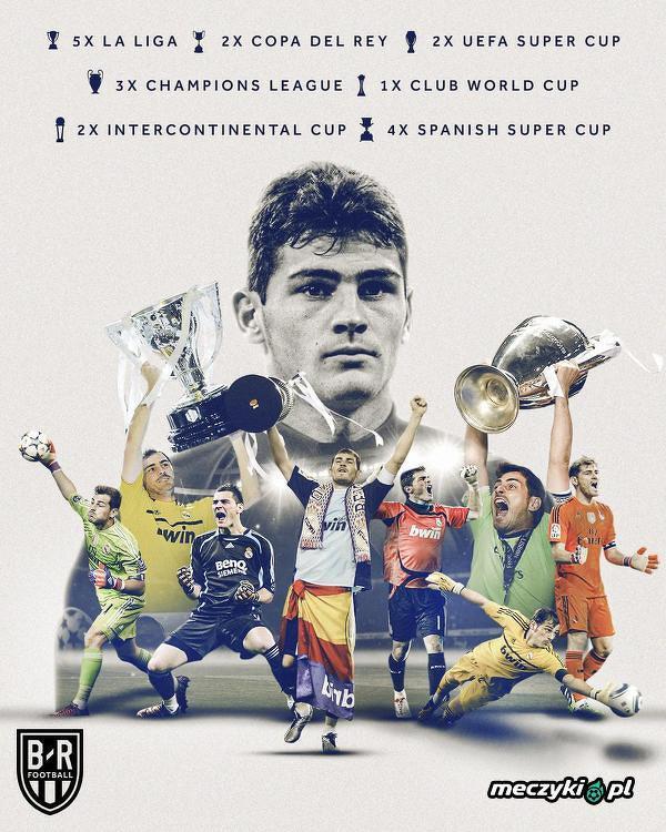 20 lat temu Iker Casillas zadebiutował w Realu Madryt