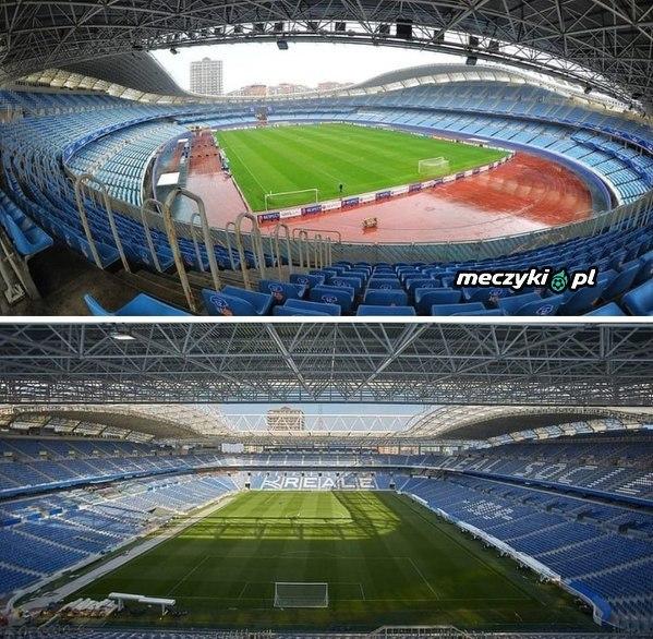 Tak wygląda stadion Realu Sociedad po przebudowie