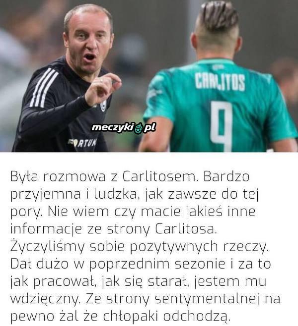 Tak wyglądało pożegnanie Vukovicia z Carlitosem